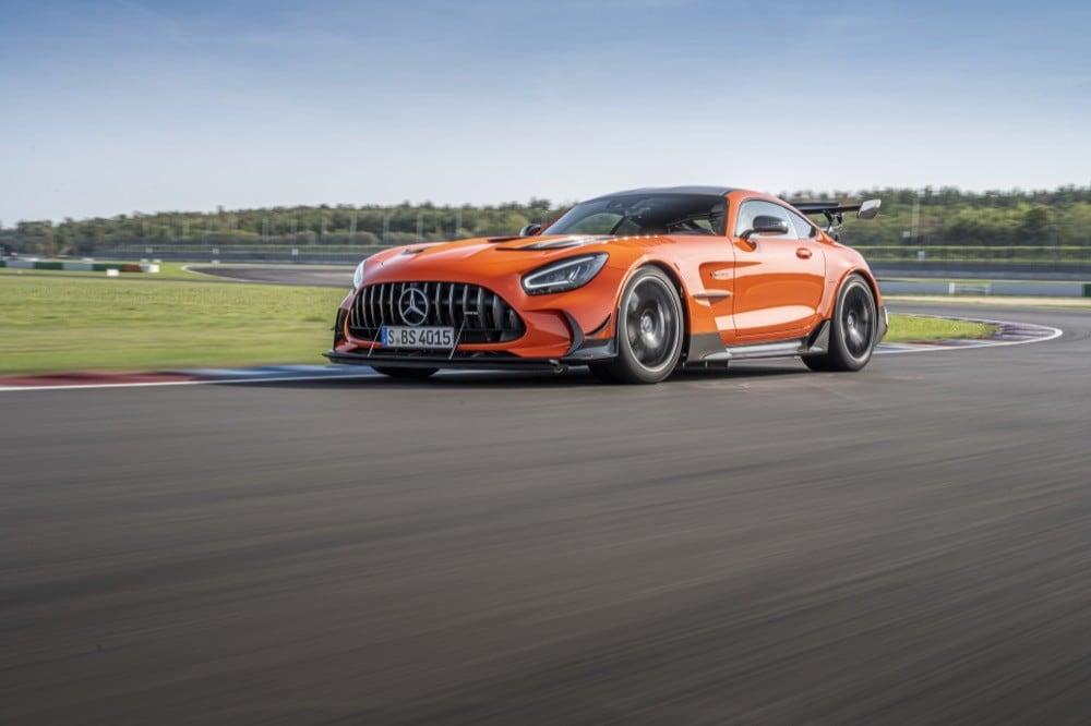 Nuova Mercedes AMG GT Black Series FOTO