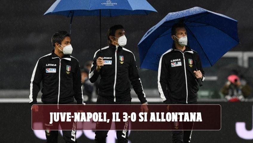 Juve-Napoli, inciucio parte seconda: il 3-0 si allontana