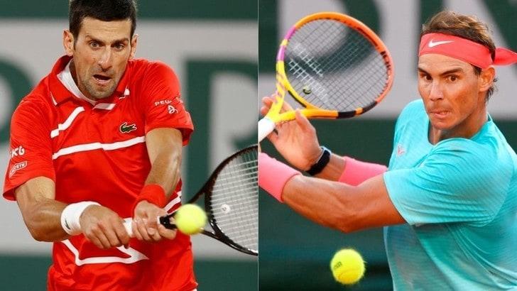 Roland Garros, Nadal-Djokovic in finale