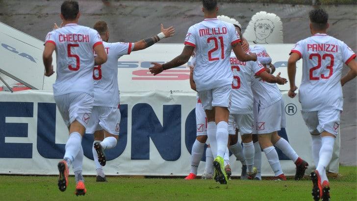 Il Mantova strapazza il Perugia 5-1. Crollo Triestina col Legnago Salus
