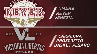 Umana Reyer Venezia - Carpegna Prosciutto Pesaro 72-90