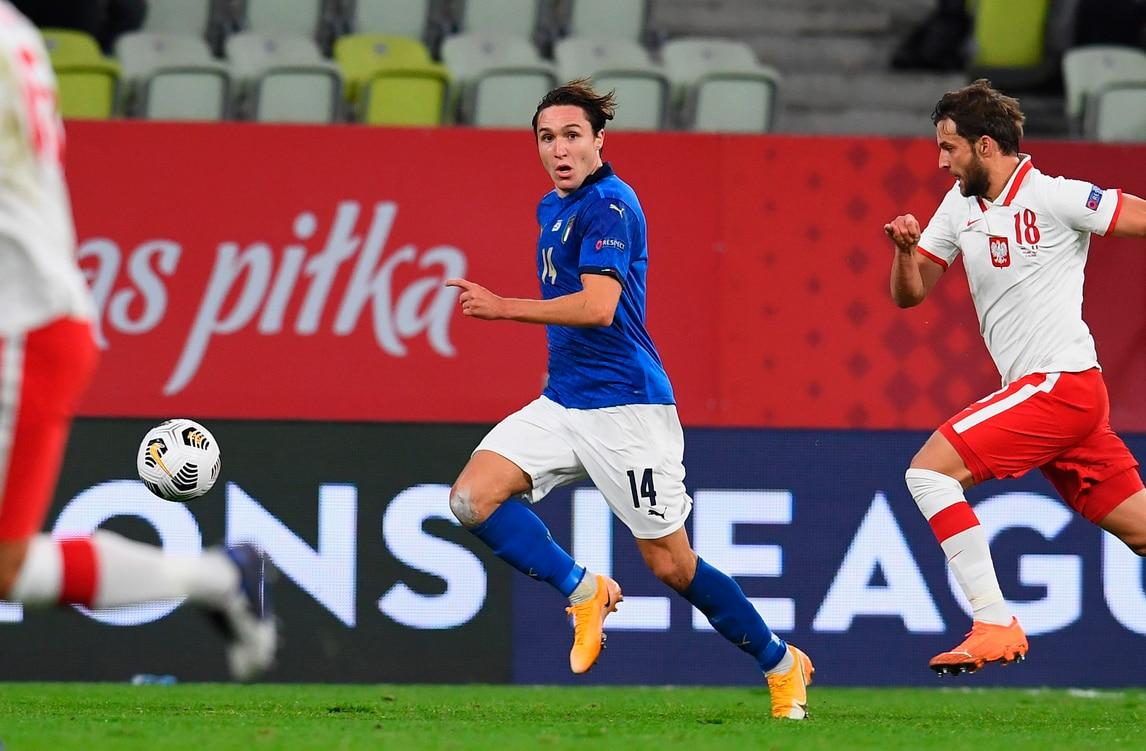 Chiesa e Belotti a secco, Polonia-Italia 0-0