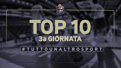 La Top Ten della 3a giornata di campionato LBA