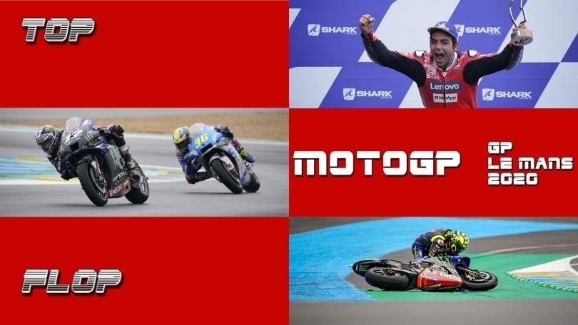 Top e Flop MotoGP, GP Francia: Rossi out, Petrucci torna a vincere VIDEO