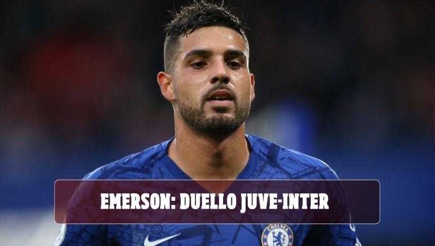 Emerson chiama la Juve. Per gennaio sarà ancora duello con l'Inter