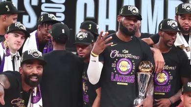 Leggenda LeBron James, 4 volte campione NBA