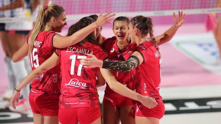 La Lega Femminile rinvia anche Brescia-Busto