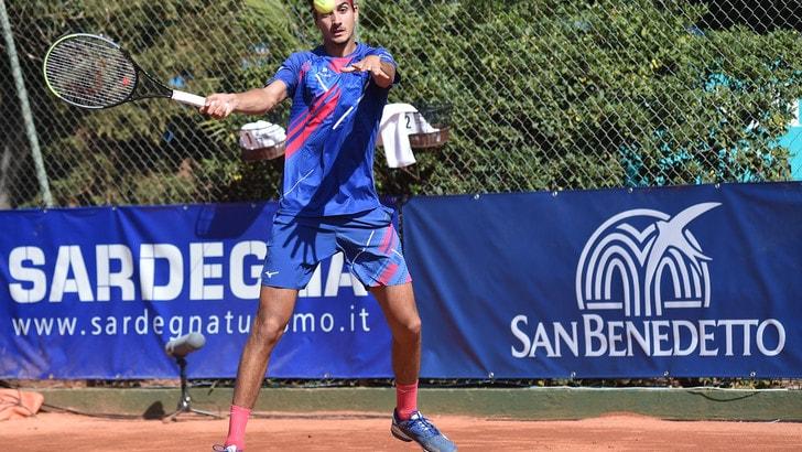 Sardegna Open, eliminato Sonego al secondo turno