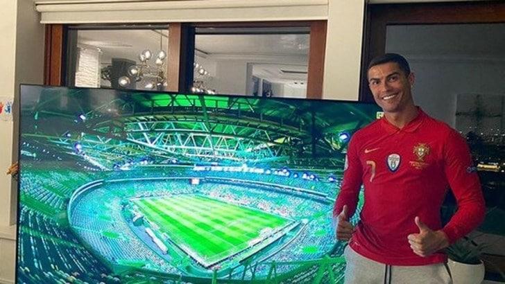 """Ronaldo: """"Forza Portogallo! Ragazzi sono con voi"""""""