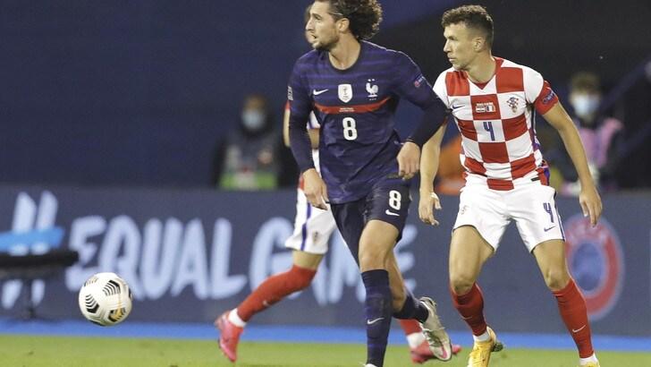 La Francia di Rabiot vince in Croazia, Lukaku trascina il Belgio. La Danimarca di Eriksen sbanca Wembley