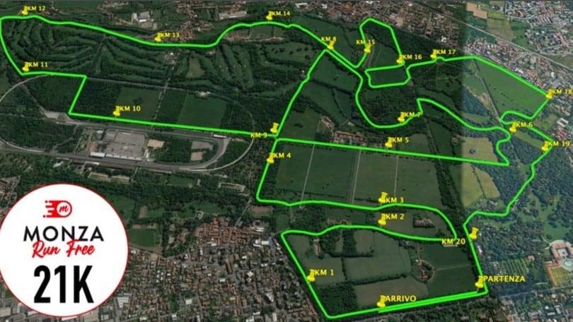 Monza Run Free, nasce oggi un nuovo modo di correre