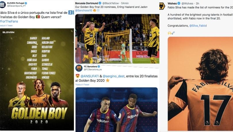 Dalla Champions alle big d'Europa: tutti pazzi per il Golden Boy