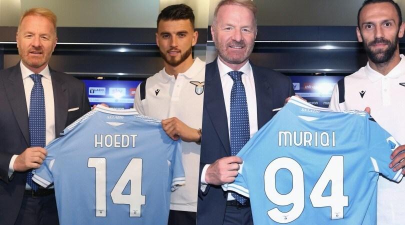 Lazio, ecco Muriqi e Hoedt presentati da Tare
