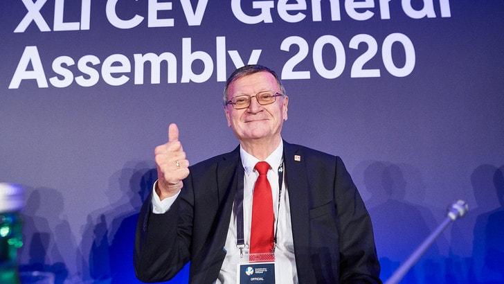 La Cev conferma Boricic alla presidenza