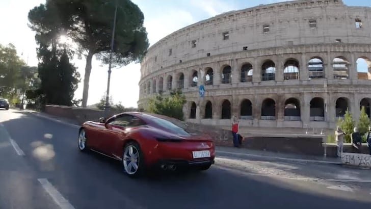 Ferrari Roma, l'eleganza di un