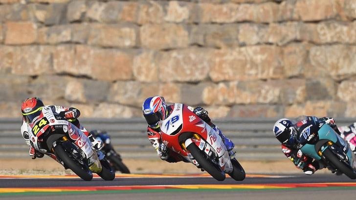 GP Aragon: gare ritardate di un'ora. La MotoGP corre alle 15