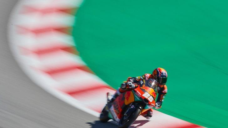Gp Aragon: pole per Fernandez in Moto3, Vietti 2° e Fenati 6°