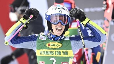 Mondiale sci, trionfo Bassino nello slalom gigante