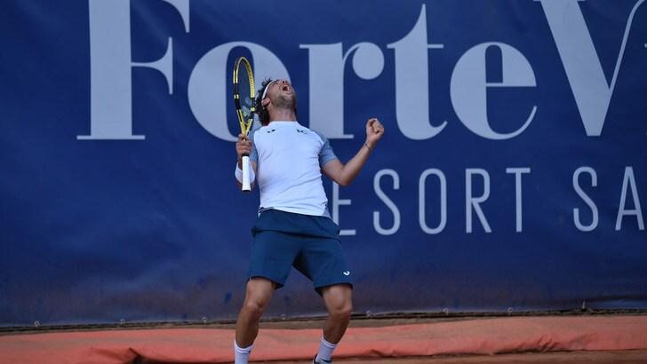 Sardegna Open, Cecchinato batte Petrovic e vola in finale