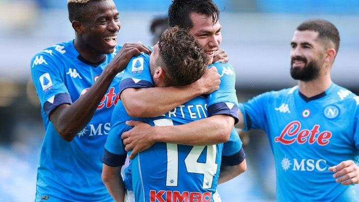 Napoli-Atalanta 4-1: Gattuso show con Lozano, Gasperini ko - Tuttosport