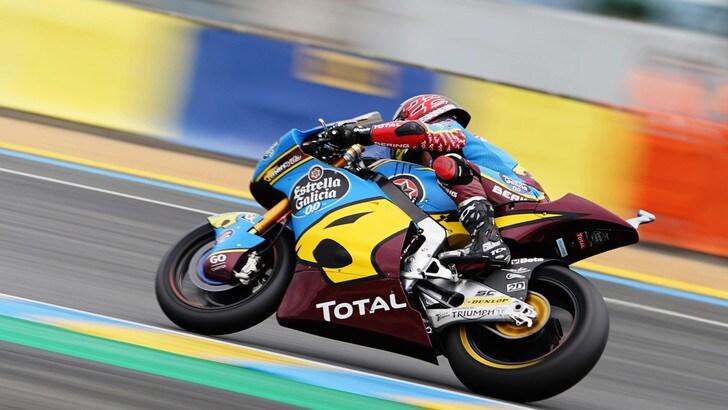 Gp Aragon: in Moto2 Lowes centra la pole, Bezzecchi secondo