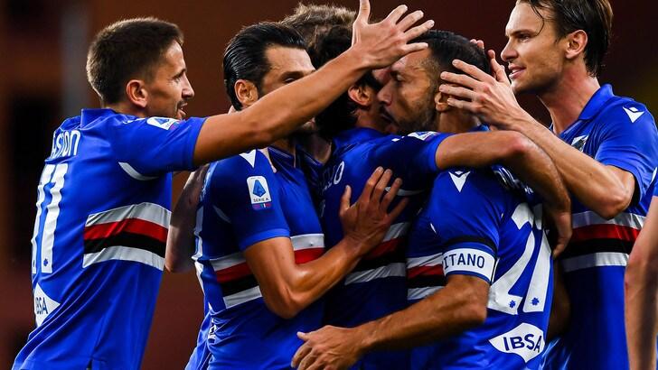 Sampdoria-Lazio 3-0: batosta per Simone Inzaghi, a segno Quagliarella