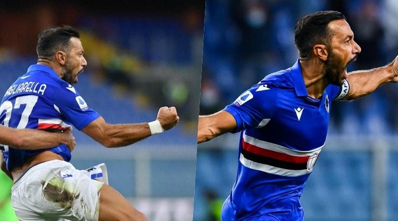 Sampdoria da urlo nel segno di Quagliarella: Lazio battuta 3-0