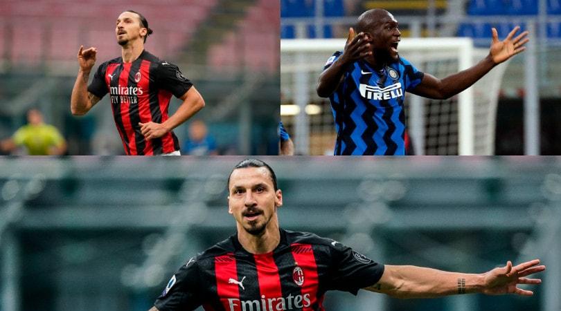 Ibrahimovic show, il Milan vince il derby. All'Inter non basta Lukaku