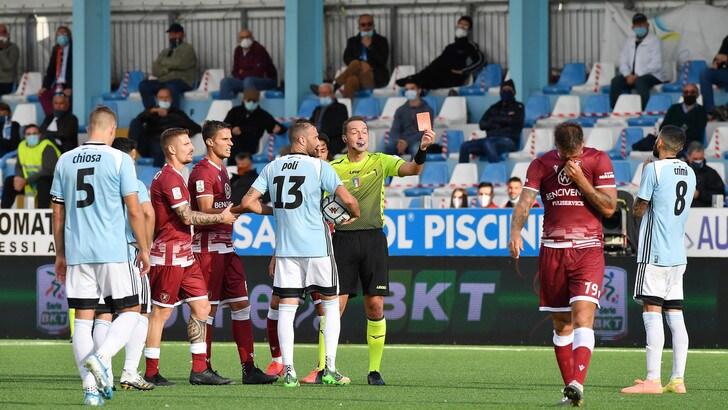 Serie B, Crimi dell'Entella Dickmann della Spal fermati per un turno