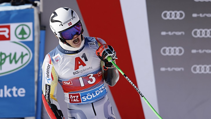 Coppa del Mondo sci: Braathen trionfa nello slalom gigante, De Aliprandini decimo