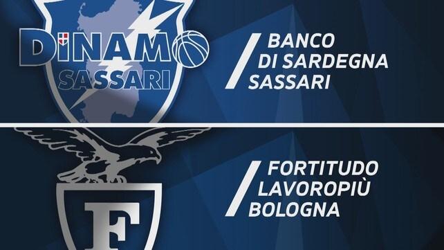 Banco di Sardegna Sassari - Fortitudo Lavoropiù Bologna 89-86