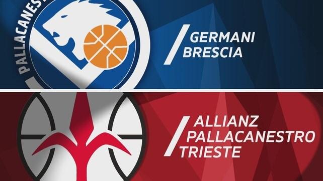Germani Brescia - Allianz Pallacanestro Trieste 75-63