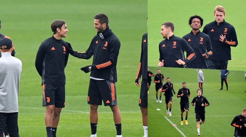 Juve, Dybala ritrova il sorriso: c'è la Champions