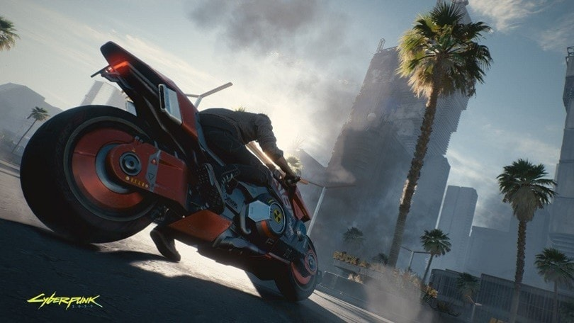Le custom Arch Motorcycle di Keanu Reeves nel futuro con Cyberpunk 2077