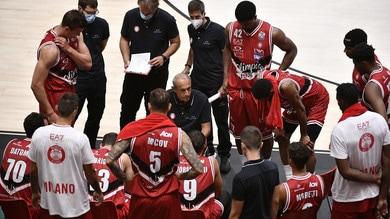 Eurolega, sospesa Zenit-Olimpia Milano. Annullati anche altri due incontri