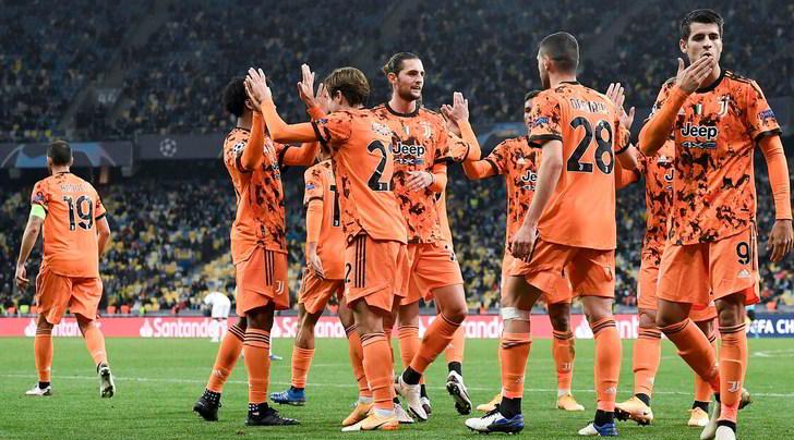 Dynamo Kiev-Juve 0-2: Morata trascinatore, Pirlo è subito da Champions