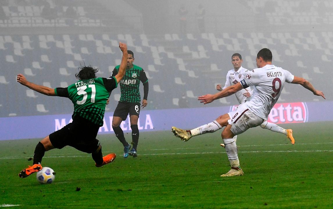 Sassuolo-Torino 3-3, il tabellino