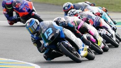 Gp Teruel, Moto3: Fernandez in pole, Arbolino-Vietti in prima fila