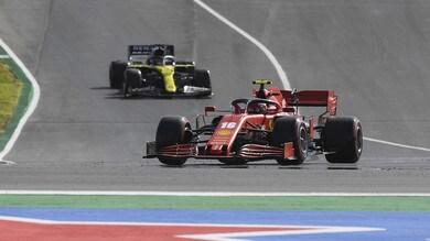 Gp Portogallo: Leclerc è quarto, pole a Hamilton