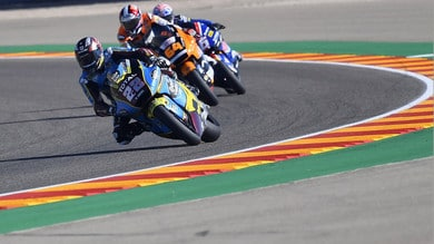 Gp Teruel, Moto2: Bastianini sesto, pole per Lowes