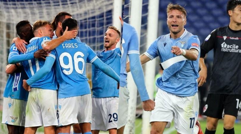 Lazio ok con Luis Alberto e Immobile: bel Bologna, ma va ko