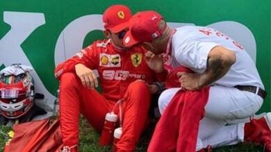 Lapo Elkann spinge Leclerc: «Caro amico, abbiamo fiducia in te»