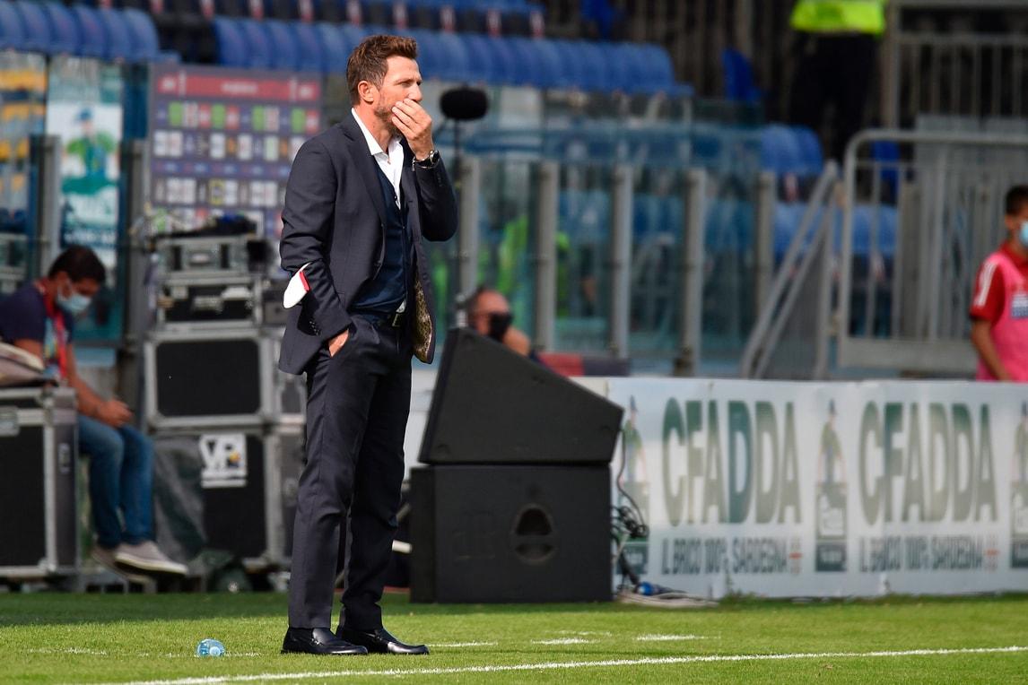 """Cagliari, Di Francesco: """"Joao Pedro più stimolato. Soffrire è nel nostro dna"""""""