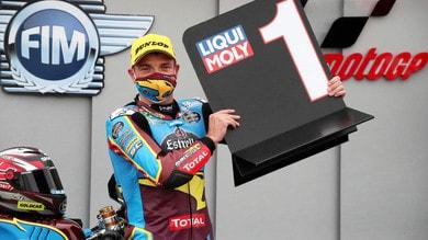 Gp Teruel, Moto2: Lowes, vittoria e leadership mondiale