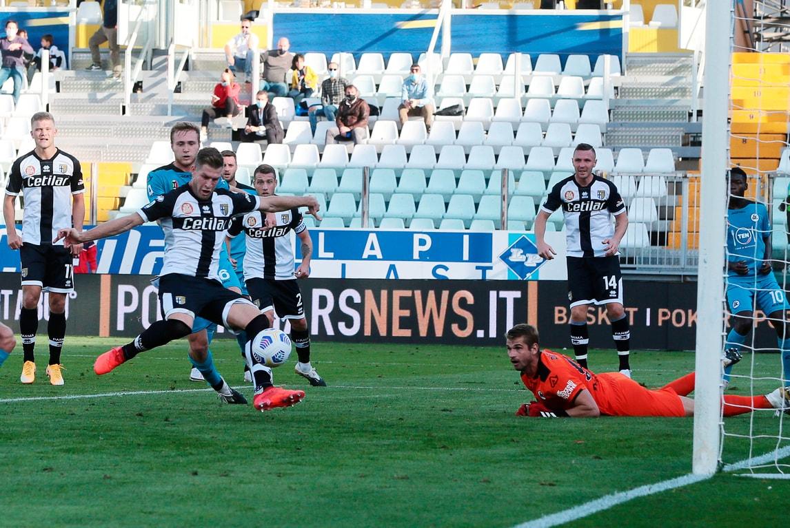 Gagliolo-Kucka, rimonta show del Parma. Che beffa per lo Spezia!