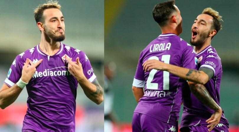 Fiorentina, Castrovilli super: doppietta e assist contro l'Udinese