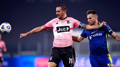 Bonucci, infortunio muscolare in Juve-Verona