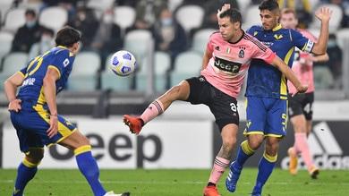 Juve-Verona 1-1, il tabellino