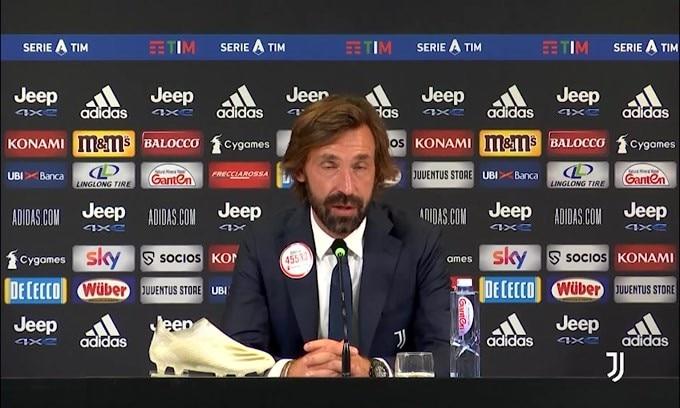 """Pirlo: """"Bonucci out con Barca? Spero di averlo a disposizione"""""""