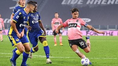 Juve-Verona, le pagelle: Dybala cresce. Male Arthur: troppo lento